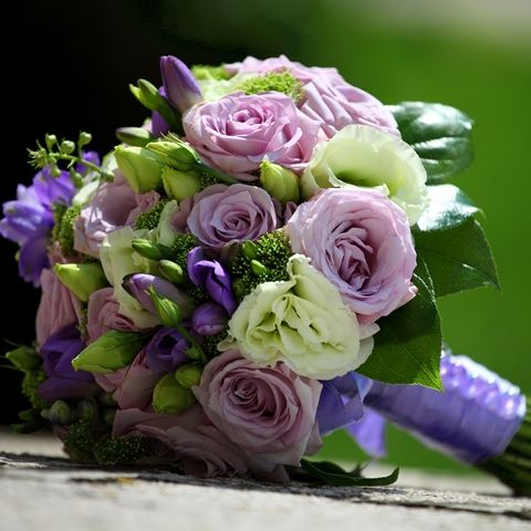 Hint of Lavender Bridal Bouquet - Hint of Lavender Bridal Bouquet > View Full-Siz... | Lavender, Bouquet, Hint, Lisianthus, Fre