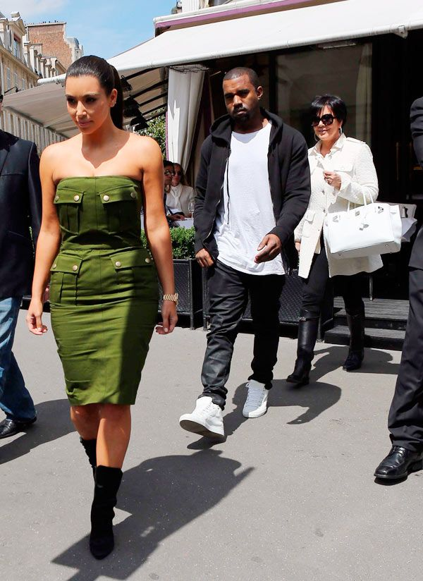 Kanye West Is 'Cool' With Living At Kris Jenner's House With BabyGirl