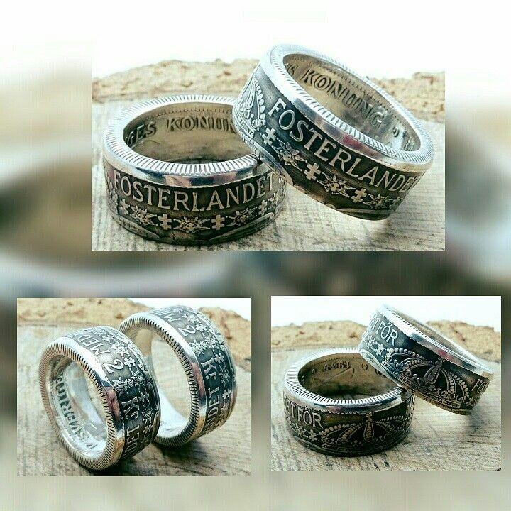 www.muenzenringe.de Ich liebe diese Ringe!😍  Schweden als Partnerringe am Finger 😁 ,aus Silber. Natürlich kann man diese auch einzeln bekommen!  #coin #coinring #ring #jewelery #jewelrygram #hammer #handmade #hit #insta #graft #schweden #norden #jewelery #dawanda #sv #skåne #necklaces #breclet #earring #schmuck #silver #fashion #beauty #beautiful #oslo #sverige #sweden #goteborg #muenzenringe