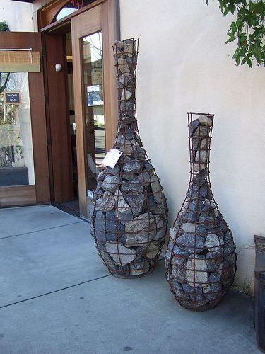 gabion art