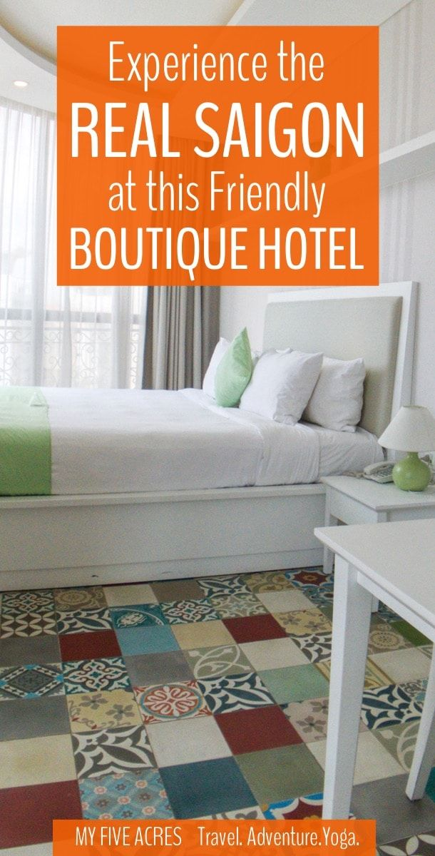 This cheery boutique hotel in Ho Chi Minh City's Binh Thanh, is perfect for people who want to experience the real Saigon away from the touristy District 1.
