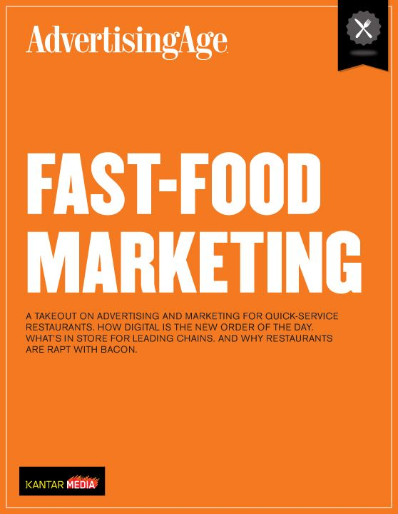 fast food marketing report The heart & stroke 2017 report on the health of canadians examines  to  flourish but marketing persuades kids to want junk food and drinks.