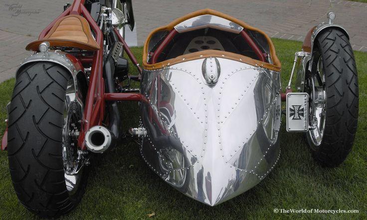 cool custom big & sidecar