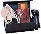 ♧◊ Beard Grooming Kit #100% Boar Bristle Beard Mustache Brush Comb Scissor... Act http://ebay.to/2ACSdzI