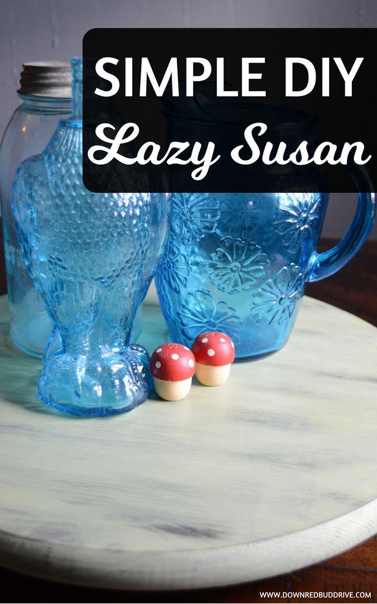 simple diy lazy susan lazy susan tutorial easy lazy susan how to make