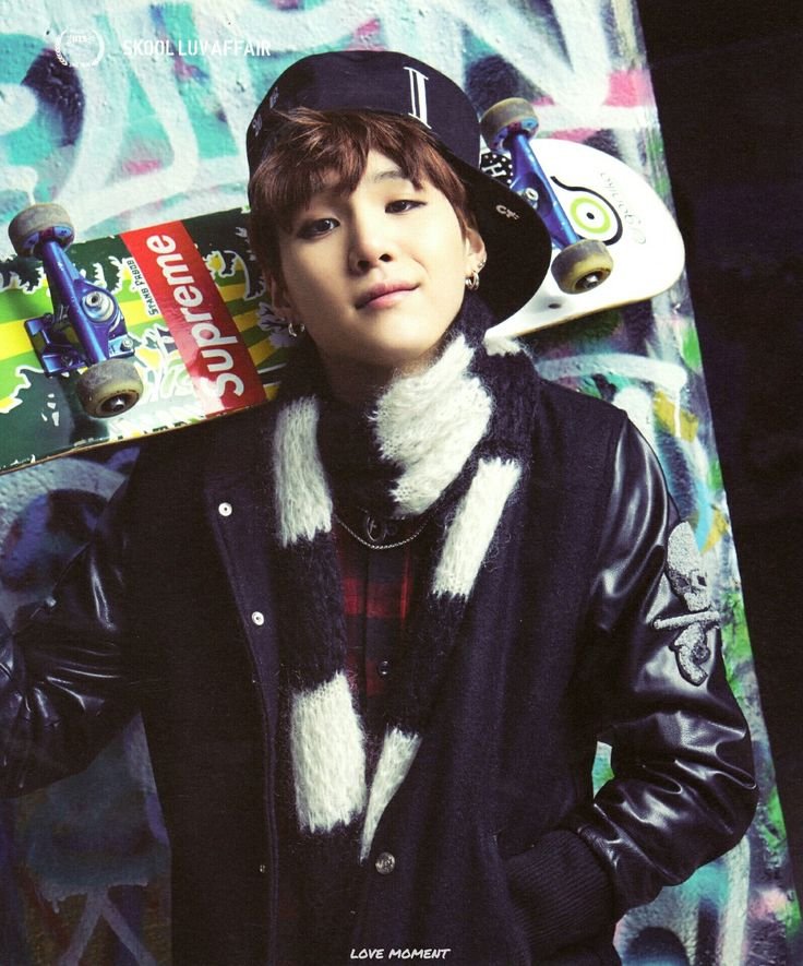 SKOOL LUV AFFAIR 방탄소년단 #Suga ♡