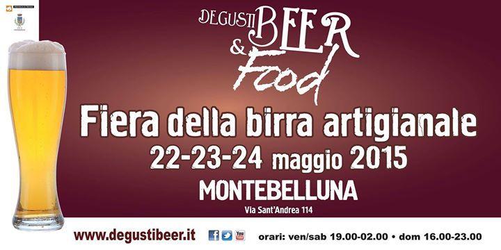 Degustibeer&food #Montebelluna 22-24 maggio 2015 #Birra #Artigianale