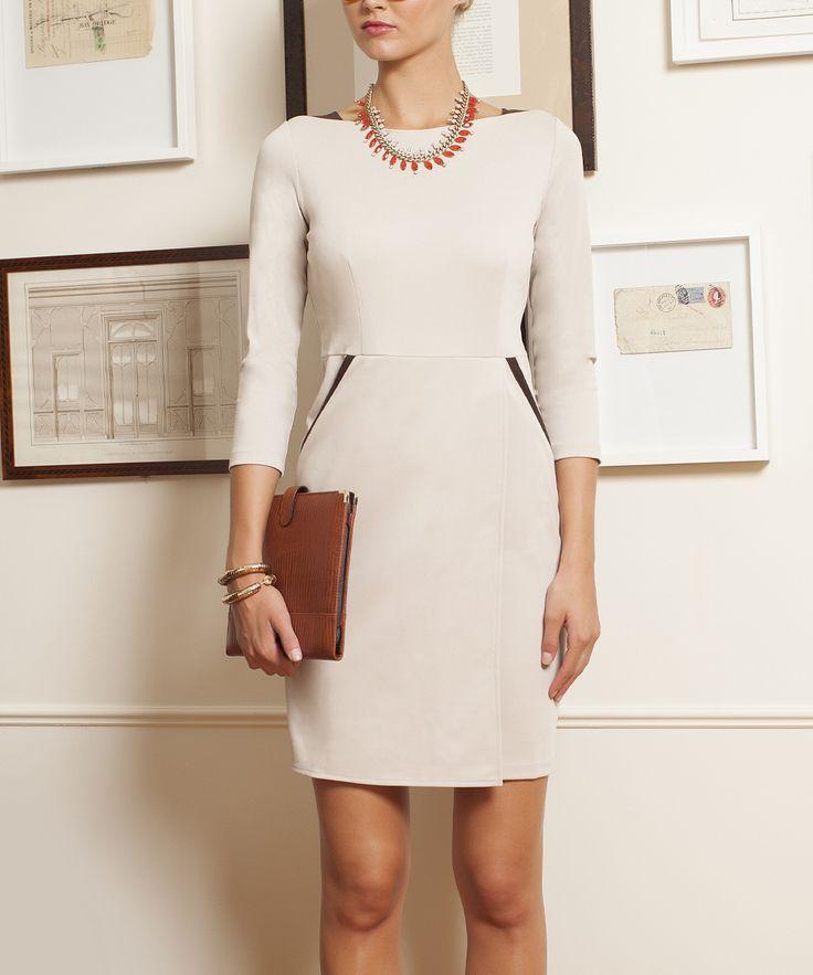 emploi New York Ivory Monroe Dress//