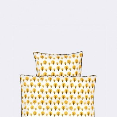 Dotty bedding yellow - Adult format 140 / 200 - 63/60 dekbed Ferm Living bij emma b winkel Utrecht
