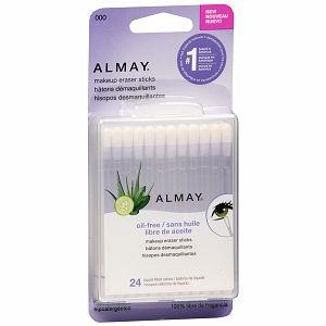 Almay Makeup Eraser Sticks - 24 ea