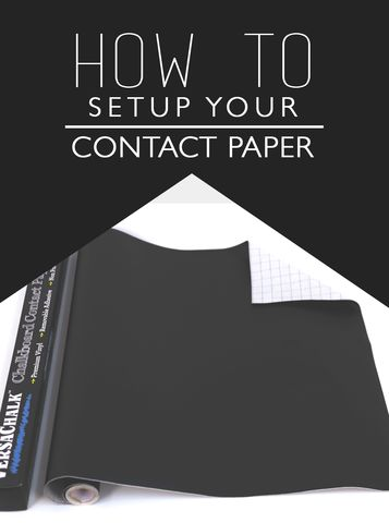 How to setup your contact Paper - Versachalk