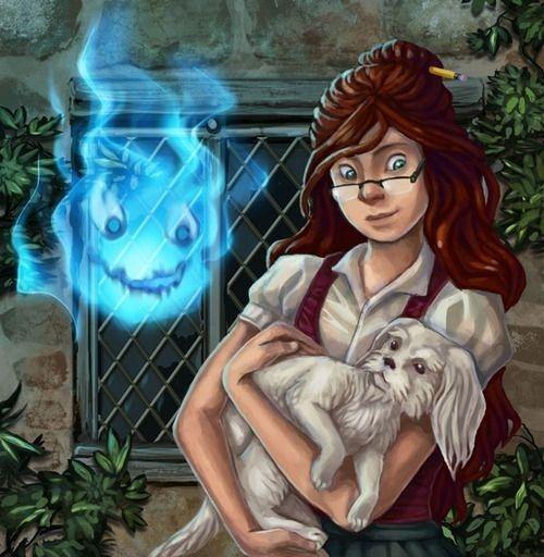 дом с характером, Чармейн, Потеряшка, огненный демон