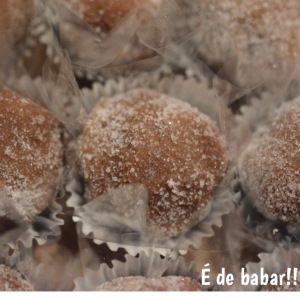 Brigadeiro de palha italiana. Feito pela www.edebabar.com.