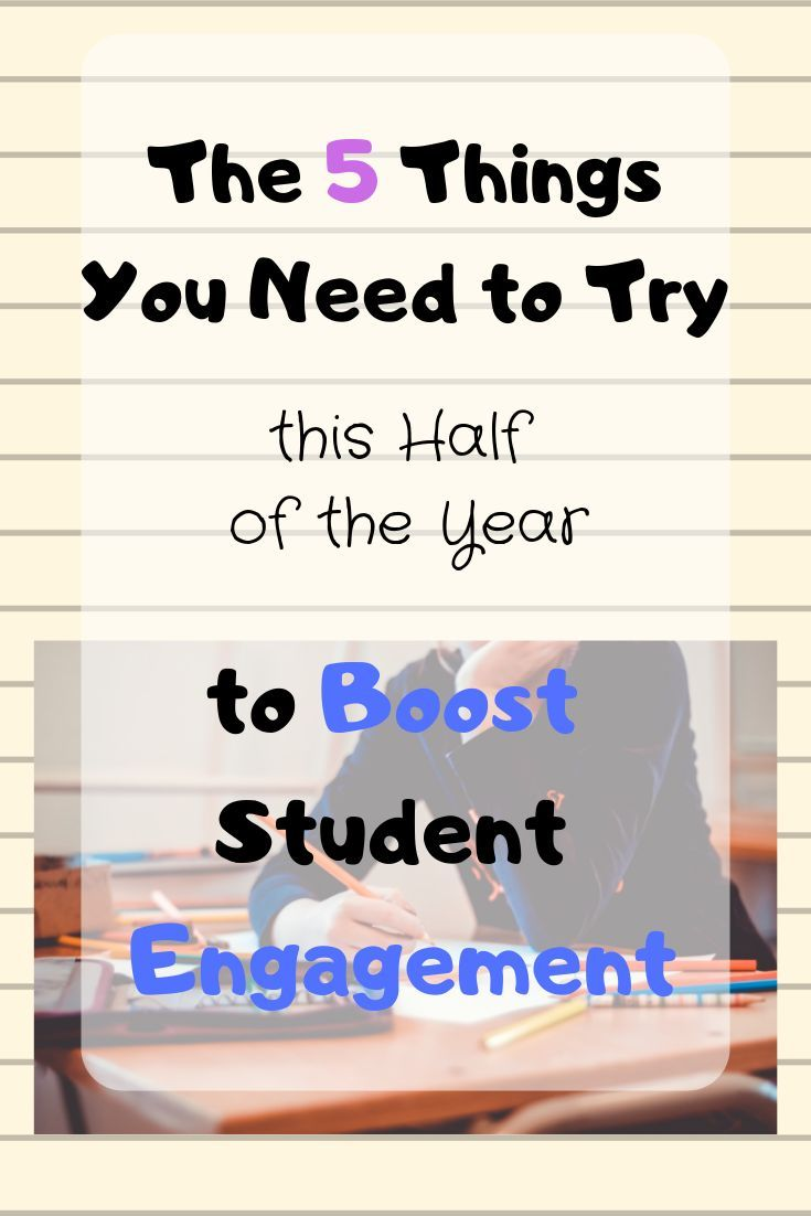 The 5 New Things I Can T Wait To Try In My Classroom Student
