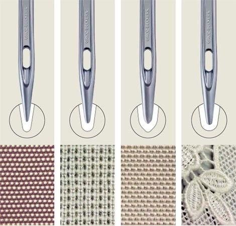 Pour obtenir un résultat de qualité il vaut mieux adapter l'aiguille de sa machine au tissu que l'on coud. Oui mais, quelle aiguille pour quel tissu ? On vous explique tout ici !