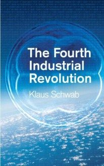 The Fourth Industrial Revolution by Prof Klaus Schwab book cover