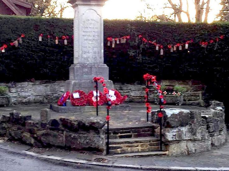 Ashurst Wood Crochet Ladies Yarn Drop remembers every one of war dead by name