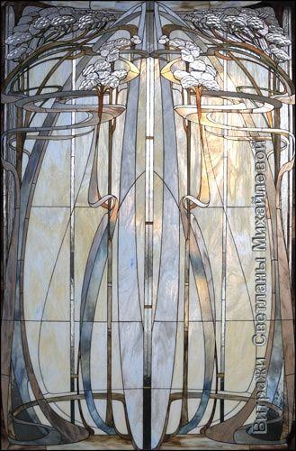 Художественные витражи из наборного цветного стекла в классических техниках для декорации интерьеров. Разработка и изготовление