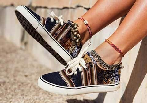 Mipacha sneakers shoes aztec designe