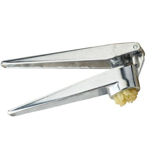 Fante's Cousin Umberto's Garlic Press by Harold Import Company, Inc.. $7.51. Fresh pressed garlic is only seconds away with Fante's Cousin Umberto's Garlic Press. It's quick and easy to use. No need to peel garlic - simply place clove in hopper and press. Sturdy metal construction. Includes handy cleaning tool.  Hand wash.  By Fante's - since 1906. Fante's is a renowned Philadelphia tradition. It is nationally acknowledged as one of the finest in the housewares industry. Over t...