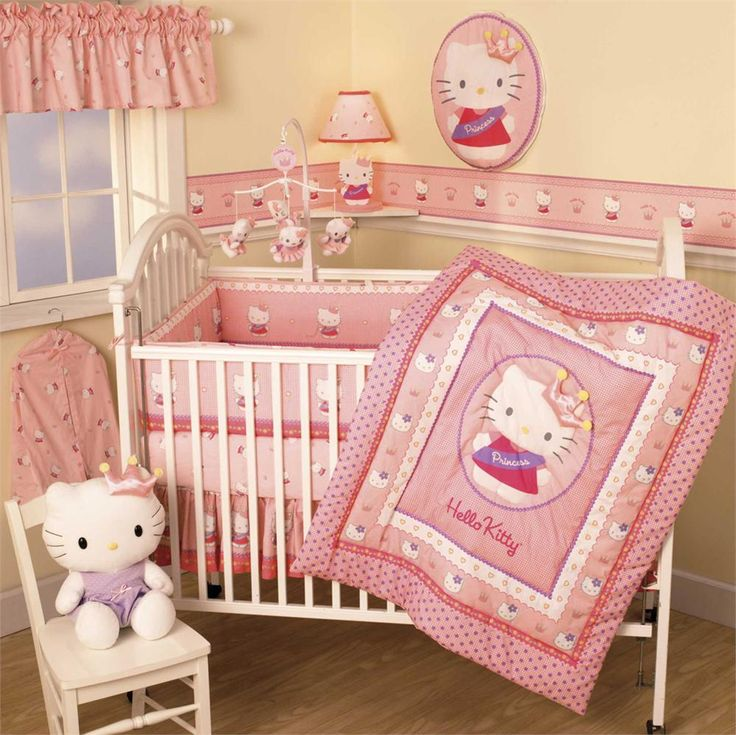 Cute Design For Girls Baby Rooms With