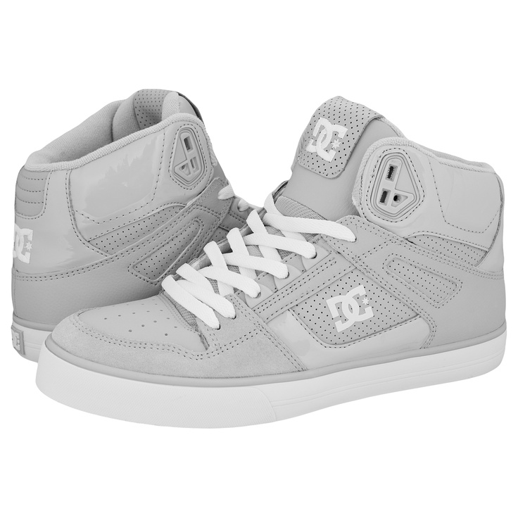 DC Spartan Hi Wc Skate Shoes Armor/White... r these the girl version?  Bc im on love <3