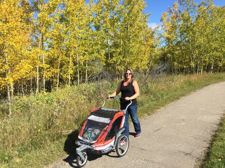 #chinook #chariot well worth the investment. It is great for walking, jogging, cycling, cross country skiing and #snowshoe trails with #PolarStrollerSkis on. #outdoorfitness #outfoorfamiliy #PolarStroller #StrollerSkis #fitmom #Stroller