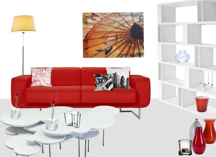 24 besten Wohnidee der Woche Bilder auf Pinterest Woche, Deins - wohnzimmer ideen rote couch