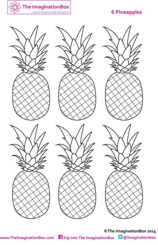 pineapple free printable