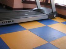 Rating The 6 Best Types of Home Gym Flooring: Virgin Rubber Floor Tiles