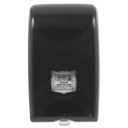 Georgia Pacific Automated Soap/Sanitizer Dispenser F/950mL/1200mL Refills,Black,5.68x5.25x10.75, Multicolor