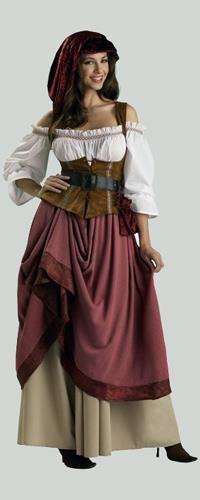 Национальные костюмы в средневековье