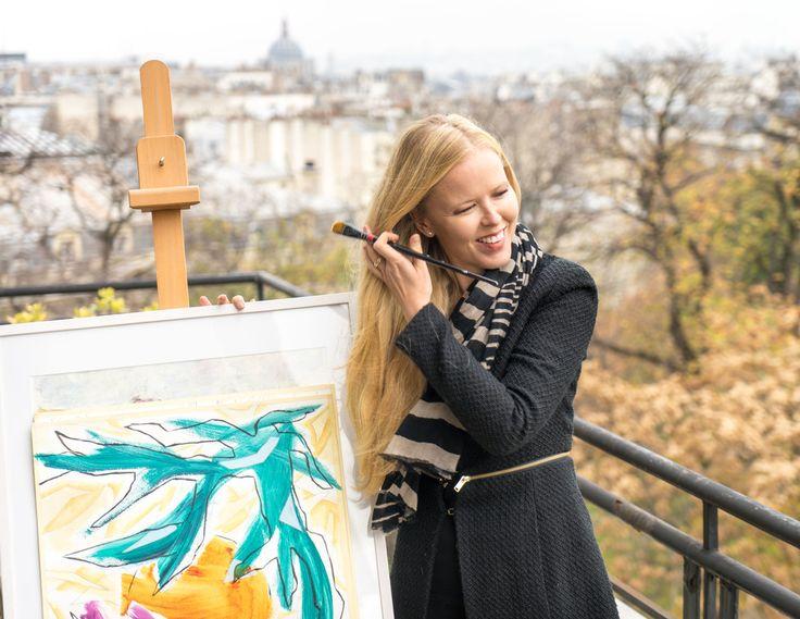 Finnish painter in Paris