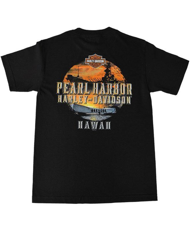 Men S Harley Davidson Remember Pearl Harbor T Shirt Black Pearl Harbor Harley Davidson Remember Pearl Harbor