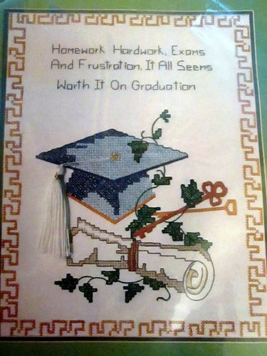 Cross Stitch Graduation And Bees On Pinterest