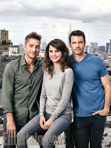 Felicity reunion 2015 - Scott Speedman, Keri Russell and Scott Foley