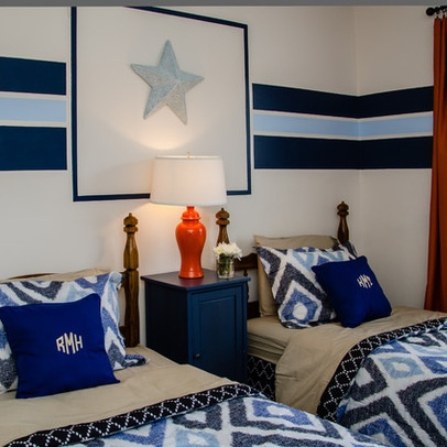 Teen Boys Bedroom Design Ideas, Pictures, Remodel, and Decor - page 3 stripe