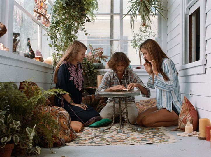 The left girl's dress The Style in Inherent Vice Will Blow Your Mind