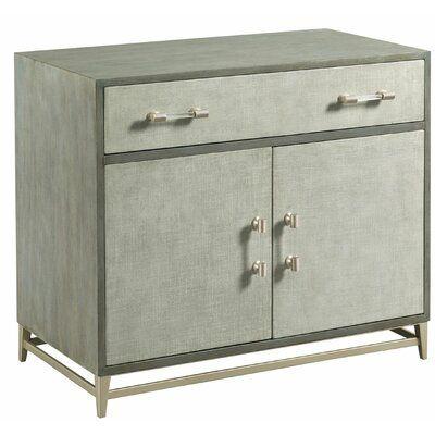 Latitude Run Noaelle 1 Drawer 2 Door Accent Cabinet In 2020 Adjustable Shelving Beach Furniture Leather Furniture