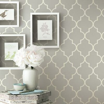 Accent walls are not just for bedrooms and living rooms. Choose a more eye-catching wallpaper such as geometric, floral or metallic to really have your wall pop! Read more tips for decorating your hallway here: https://nyde.co.uk/blog/decorating-a-hallway/