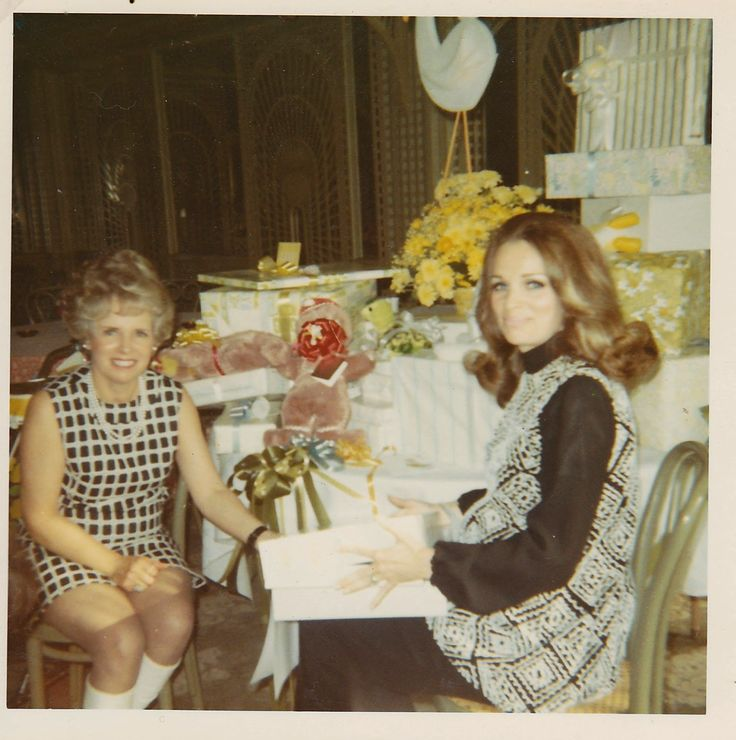 Baby Shower 1970 1970s Home Entertaining The Bistro