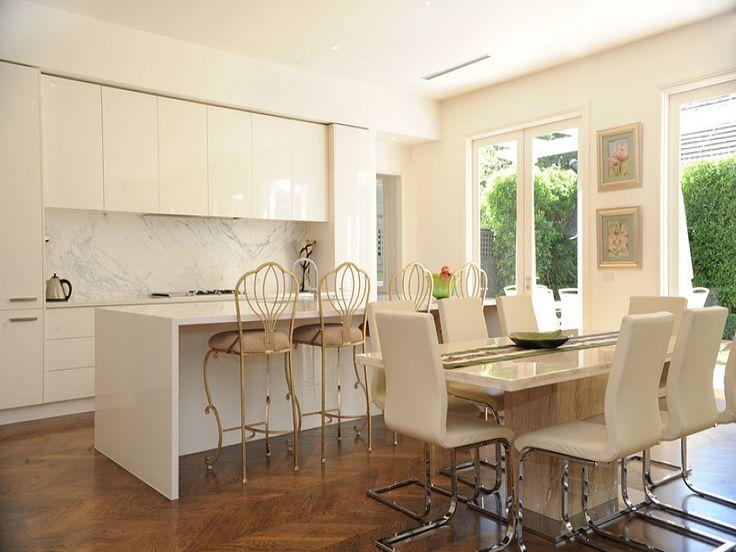 Modern galley kitchen design using hardwood - Kitchen Photo 1011033