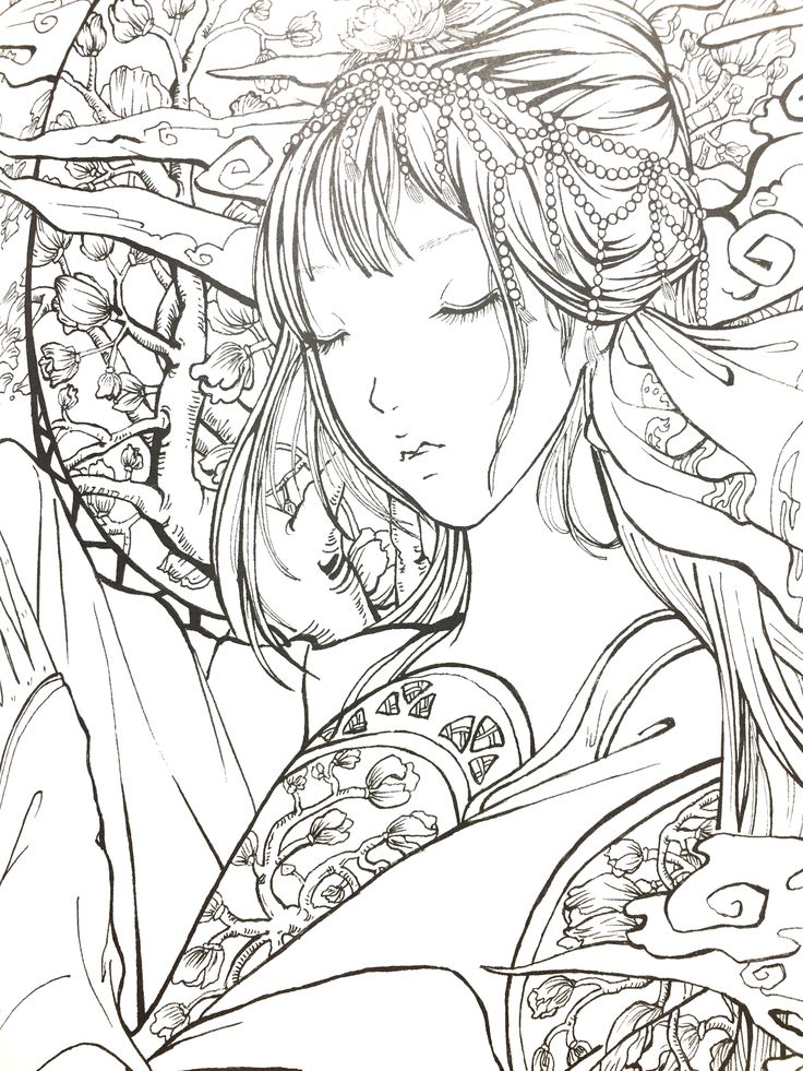 1437 best Coloring book for adult images on Pinterest Adult - best of coloring pages of king midas