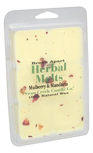 Swan Creek Mulberry & Mandarin Drizzle Melts by Swan Creek Candle #Swan #Creek #Mulberry #Mandarin #Drizzle #Melts #Candle