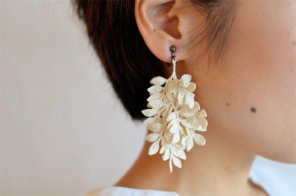 miho fujita rev crochet earrings