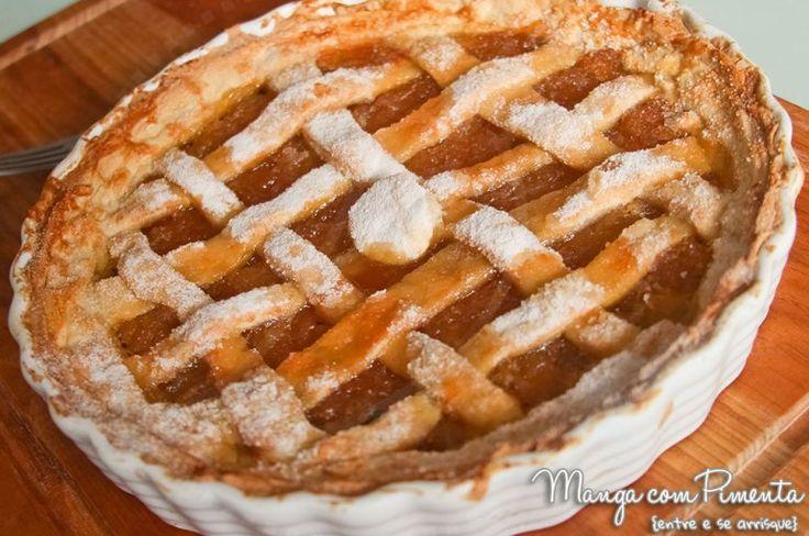 Torta Doce de Geleia Abacaxi - Especial Ceia de Natal Youtube, sobremesa perfeita para esse final de ano. Clique na imagem para ver a receita no Manga com Pimenta.