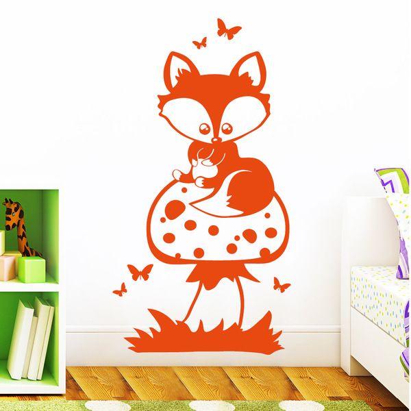 Die besten 25+ Wandtattoo waldtiere Ideen auf Pinterest - Wandtattoos Für Die Küche