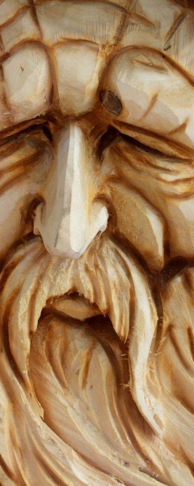 Wood Carved- Old Man