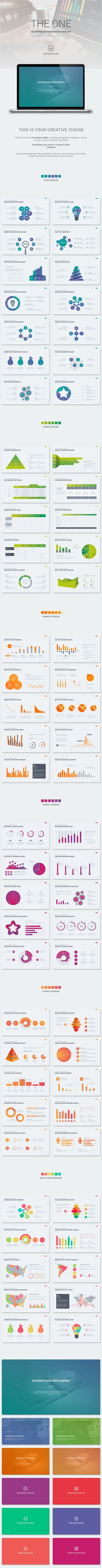 The One - Unique PowerPoint Template #design Download: http://graphicriver.net/item/the-one-unique-template/12141806?ref=ksioks