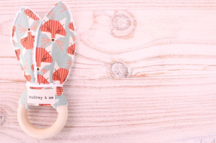 Teething Ring - Foxes – Audrey & Me http://www.audreyandme.com.au/collections/teething/products/teething-ring-foxes